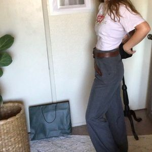 High waisted vintage Geoffrey Beene trouser pants